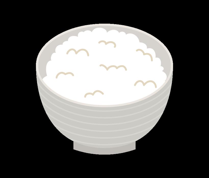ご飯のイラスト