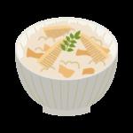 タケノコご飯のイラスト