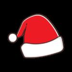 クリスマス・サンタ帽子のイラスト_02