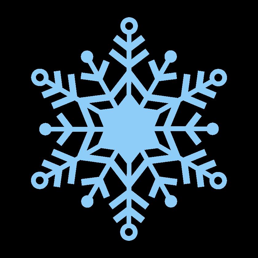 雪の結晶のイラスト_02