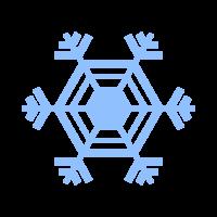 雪の結晶のイラスト_05