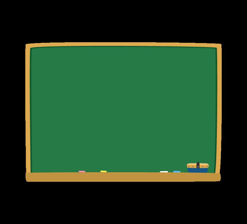 黒板のフレーム・枠イラスト