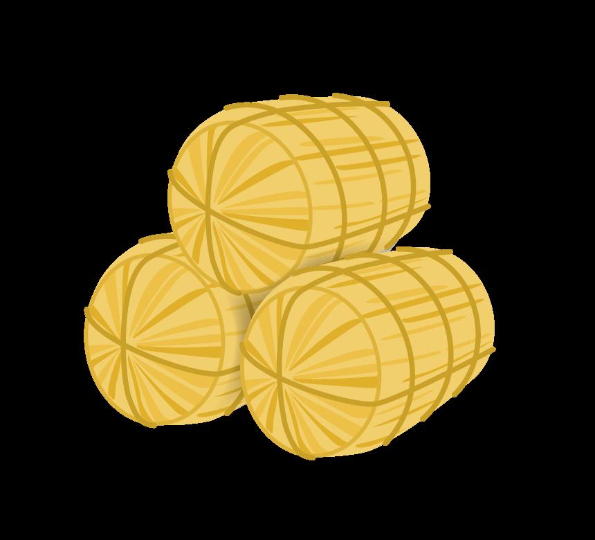 積み重ねた米俵のイラスト