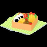 ピクニック・行楽のお弁当のイラスト
