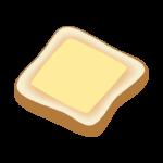 チーズトーストのイラスト