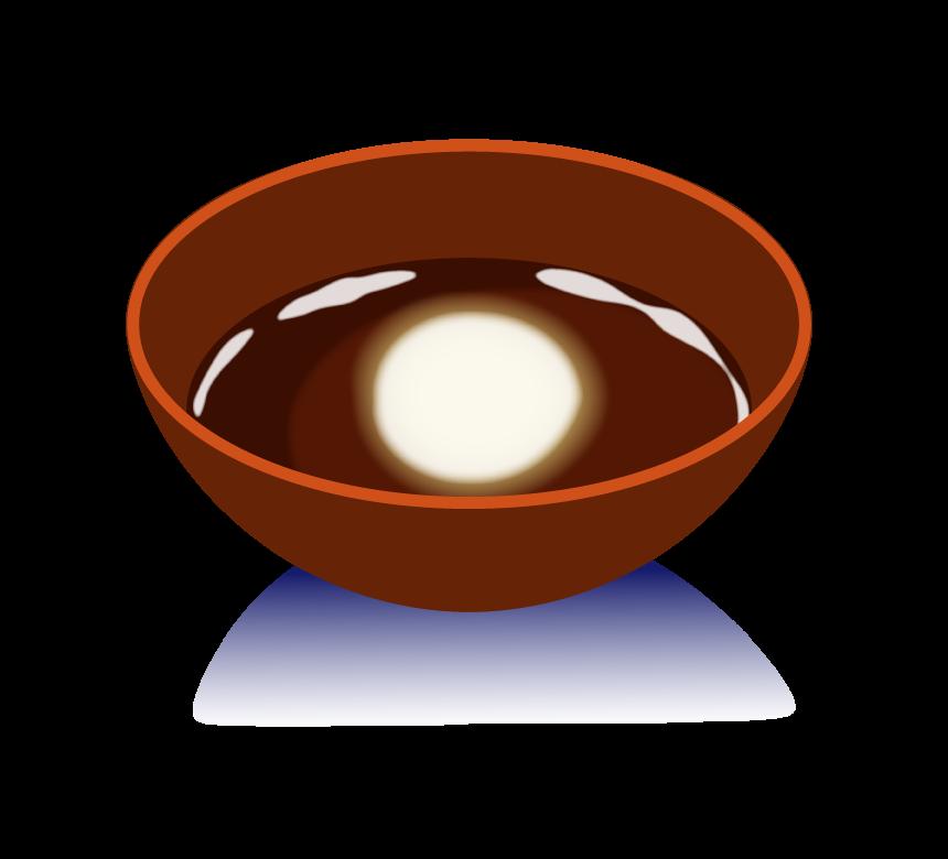 十五夜・月見酒のイラスト